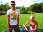 Beim Picknick mit Janni und Josè