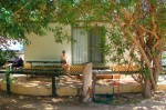 Unsere Cabin in Kalbarri