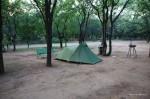 Krüger Park – Im Camp mit unserem Zelt