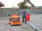Lodge direkt an der Grenze zu Namibia