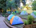 Zelten im Hostel – Livingstone