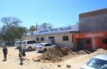 Straßenbild in Sambia