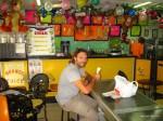 Lustige Eisdiele in Dar-Es-Salaam