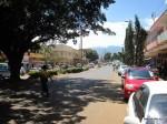 Straßenbild in Moshi