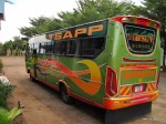 Unser Bus nach Tanga