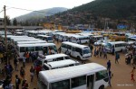 Ein bisschen afrikanischer – Busstation Kigali