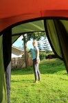 Beim Zelten – Guten Morgen Angie