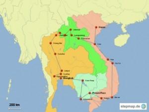 stepmap-karte-reise-durch-n-thailand-laos-vietnam-und-kambodscha-1323995