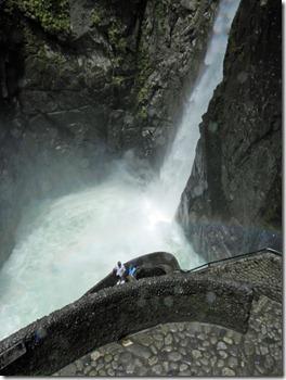 """Wasserfall """"Pailón del Diablo"""""""