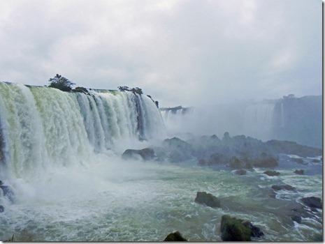 Iguazu-Fälle von der brasilianischen Seite