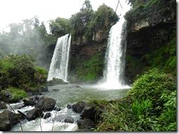 Iguazu-Fälle von der argentinischen Seite