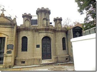 Friedhof Recoleta - eine Ritterburg als Gruft