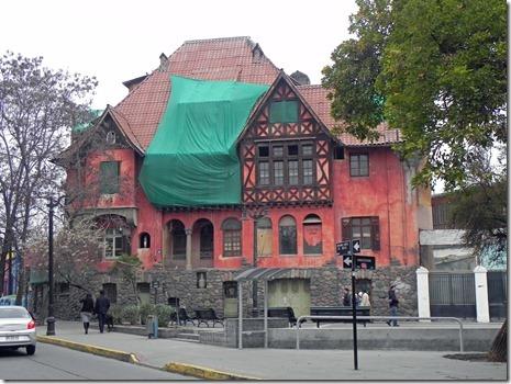 deutsches Haus mit Fachwerk