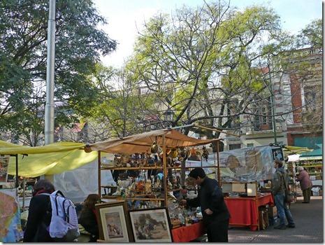 Sonntagsmarkt in San Telmo