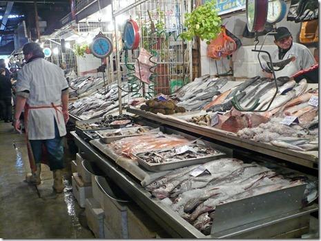Fischmarkt Santiago