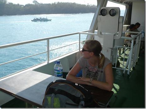 auf der Fähre nach Lombok
