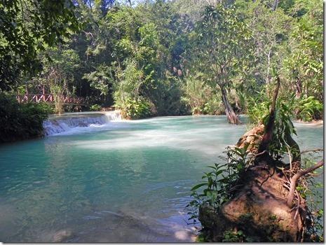 Kuang Xi Wasserfall