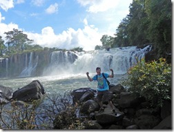 Wasserfall in Tad Lo