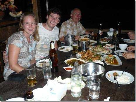 Thai-Essen mit Kurt und Malee