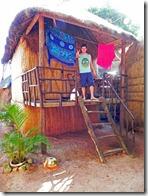 unsere Bambushütte am Otres Beach