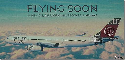 Flying soon